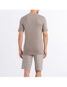 Pijama hombre corto 100%...
