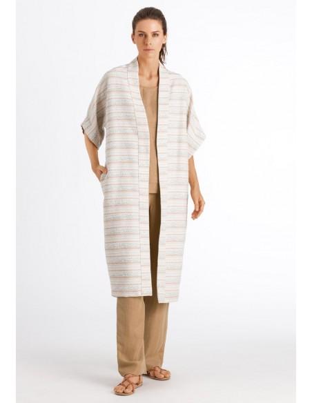 Kimono obert de barreja de...