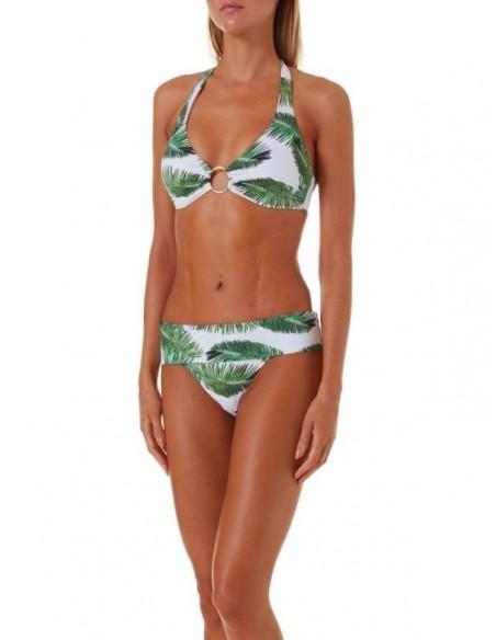 Bikini de escote halter...