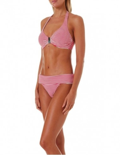 Bikini de escote halter con...