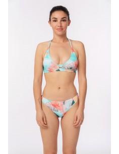 Bikini triángulo atado al...