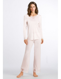 Pijama de seda modal de Hanro