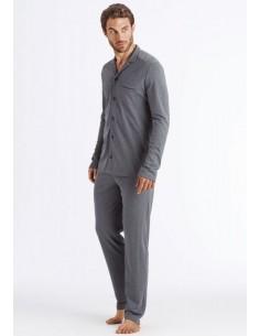 Pijama llarg de cotó Hanro