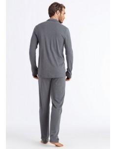 Pijama largo de algodón Hanro