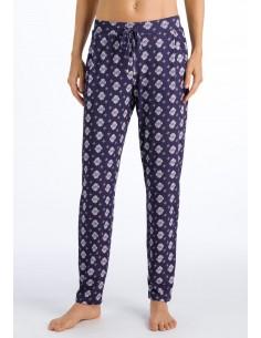 Pantalons casual de cotó de...