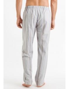 Pantalón largo de rayas Hanro