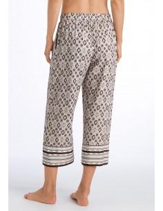Pantalones 3/4 de viscosa...